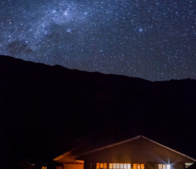 Ausangate Lodge Milky Way