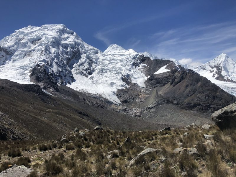 Cordillera Blanca Quilcy to Cojup